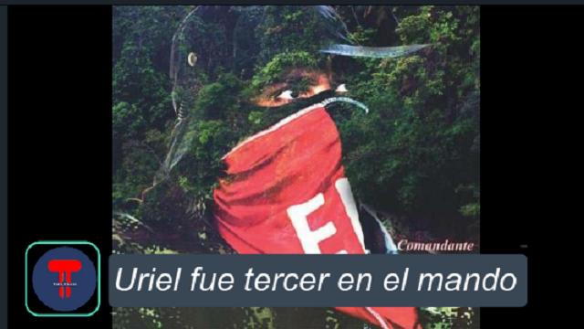 Bogotá. 25 de Octubre del 2020. Andrés Felipe Vanegas Londoño, alias 'Uriel' tercer jefe del frente de Guerra Occidental del Eln, que opera en Chocó.(Colprensa- Externo)